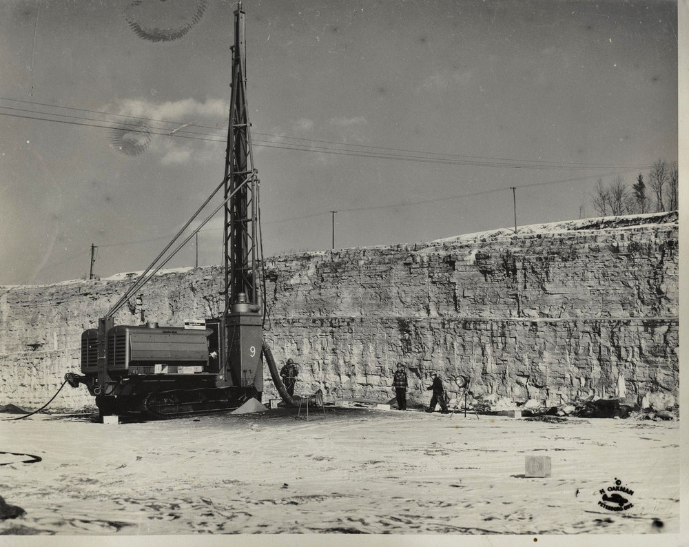 1955, Jan. Quarry Master Marmoraton Mine