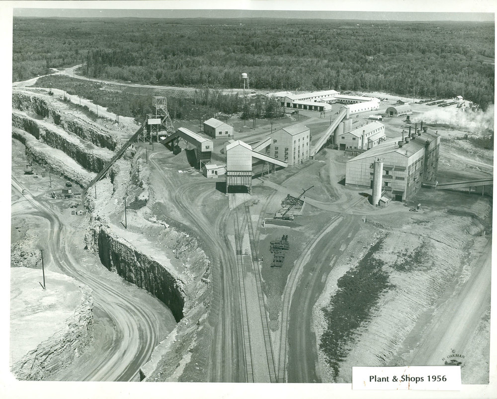 1956  Marmoraton Mine Plant & shops