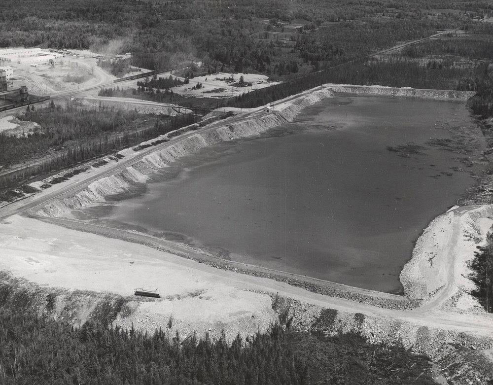 1956 Tailings dam Marmoraton Mine