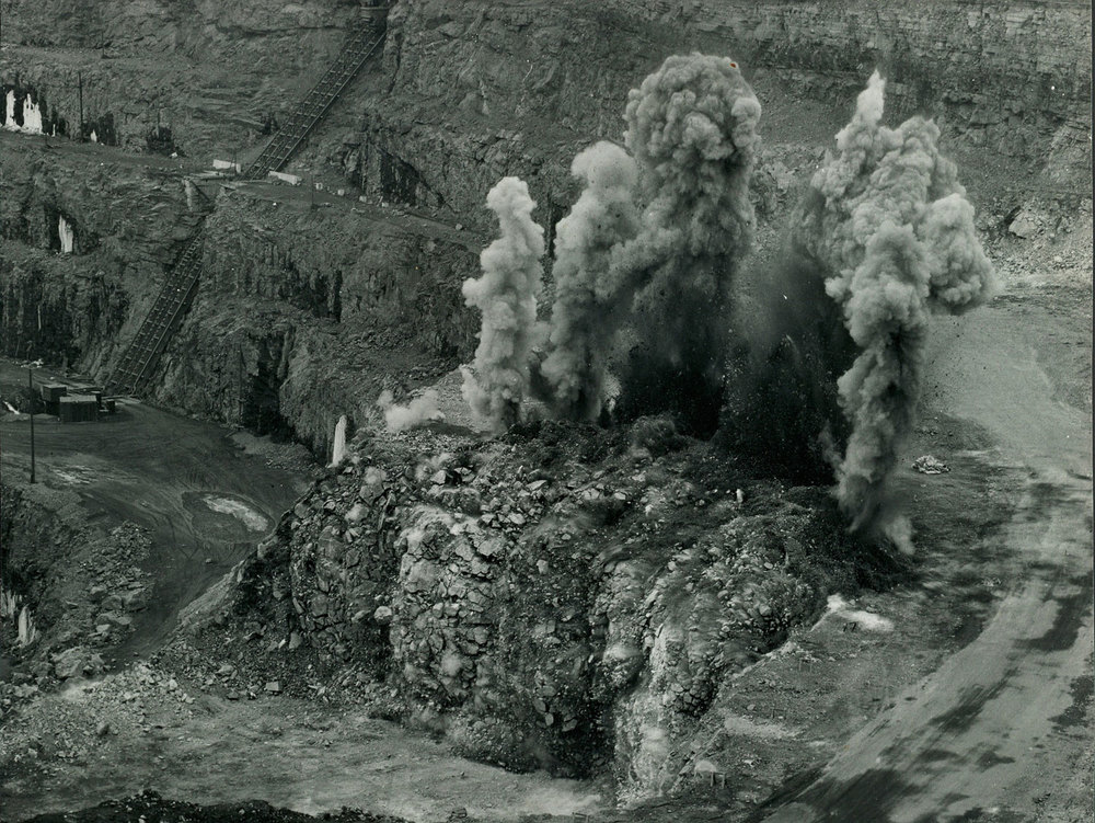 1967 Marmoraton Mining Co.  Blast