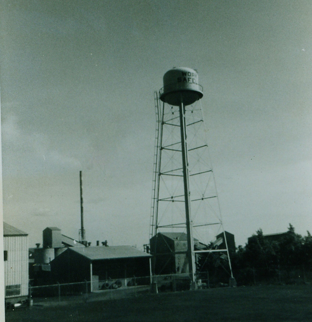 1974 Bethlehem Steel Marmoraton Mine Water Tower