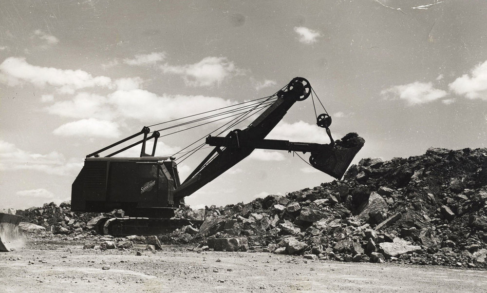 Manitowac Shovel, Marmoraton Mine