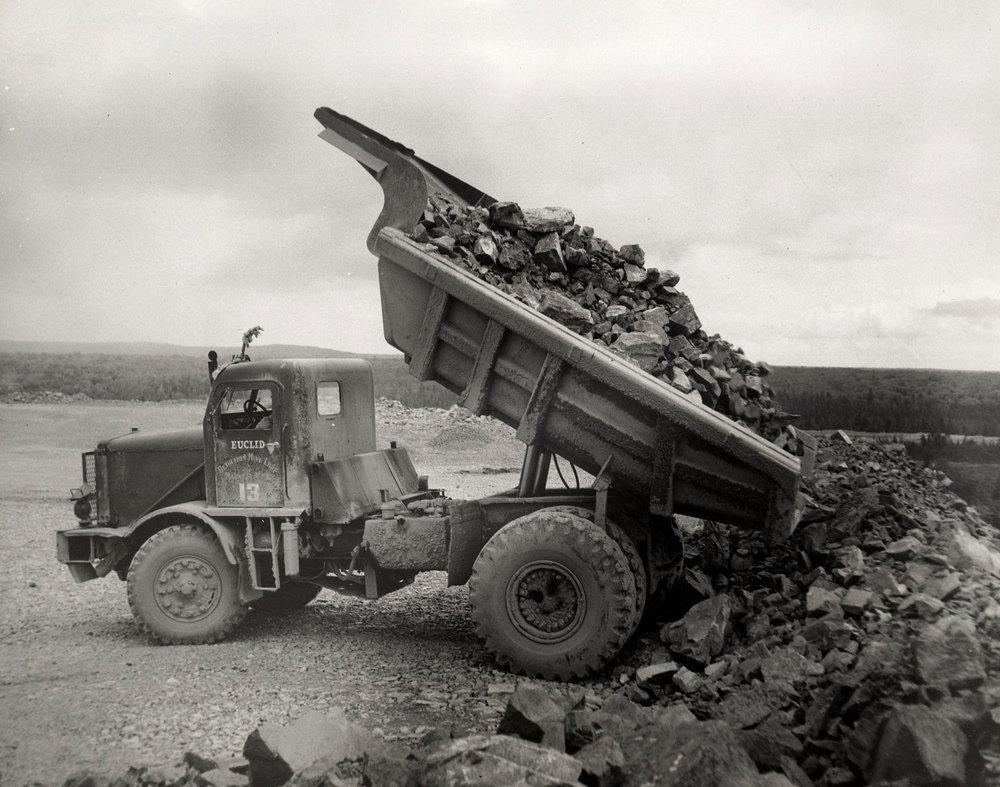 Marmoraton Mine truck