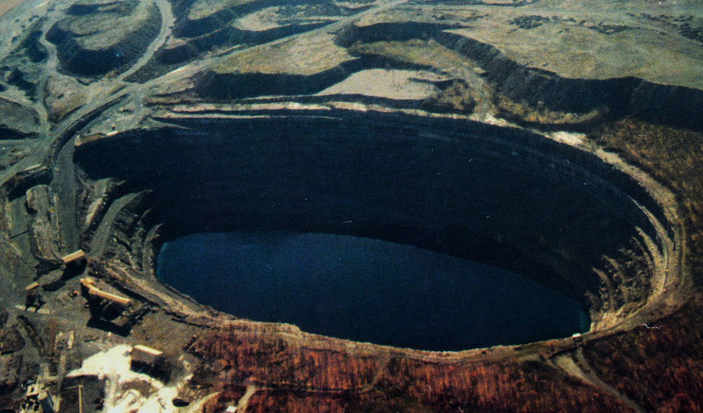 Marmoraton Mine,  Marmora Lake