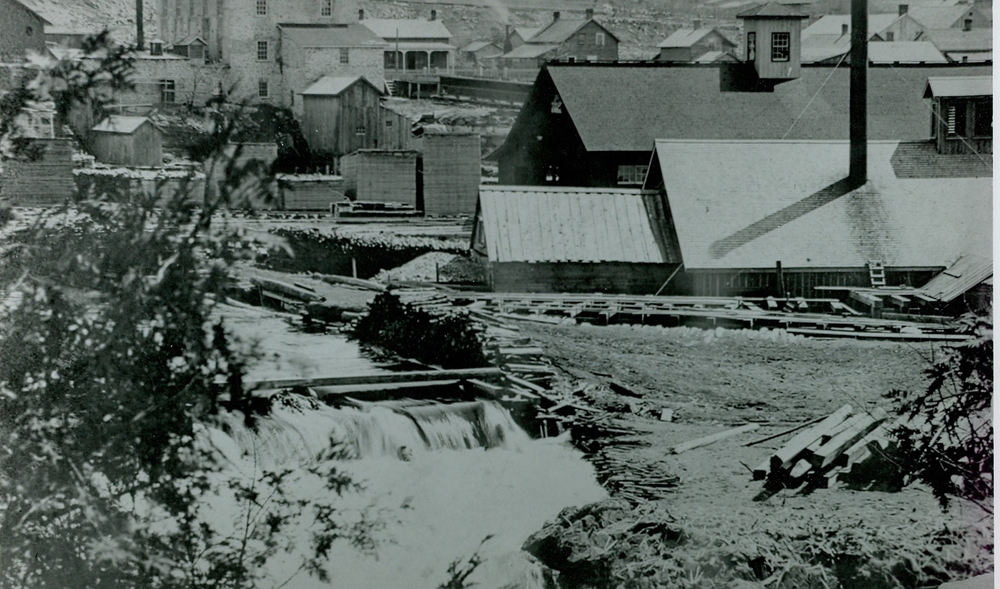 Pearce Lumber Mill at Marmora Dam