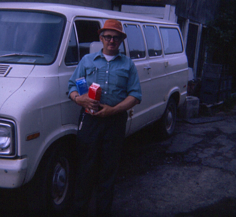 1979 Cecil Neal,  Milk Man & Fire Chief