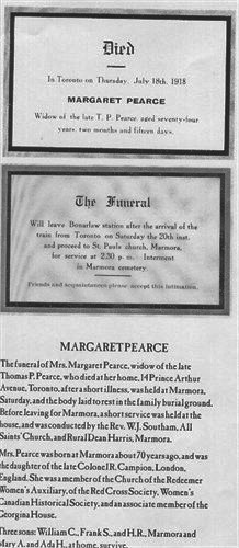 Obituary Margaret Campion Pearce