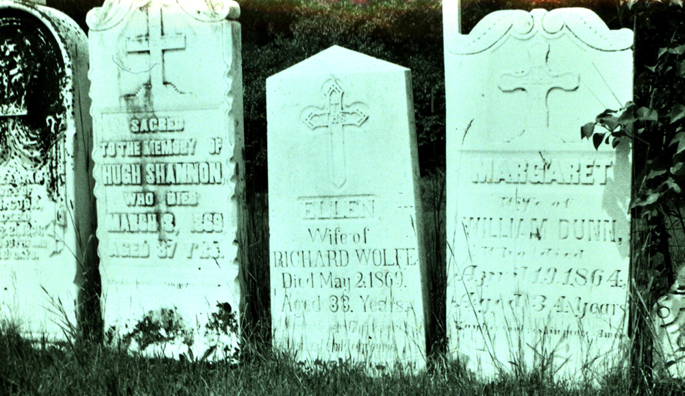 Hugh Shannon, Ellen Wolfe, Margaret Dunn