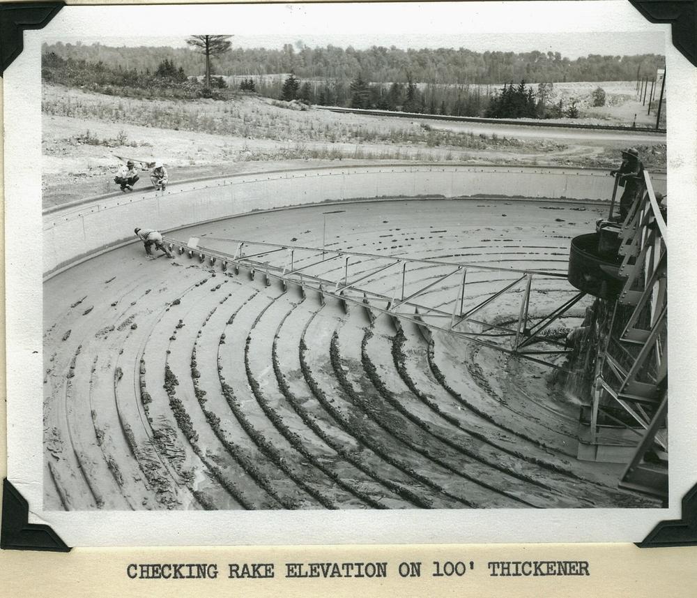 Marmoraton Mine - rake on Thickener