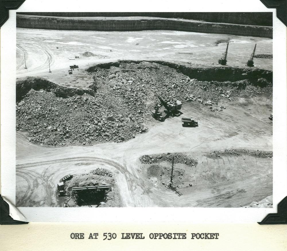 Marmoraton Mine- Ore at 530 feet