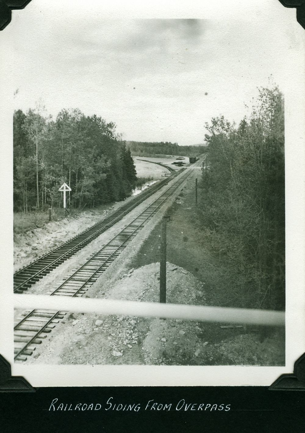 Railroad siding from Overpass - Marmora Mine