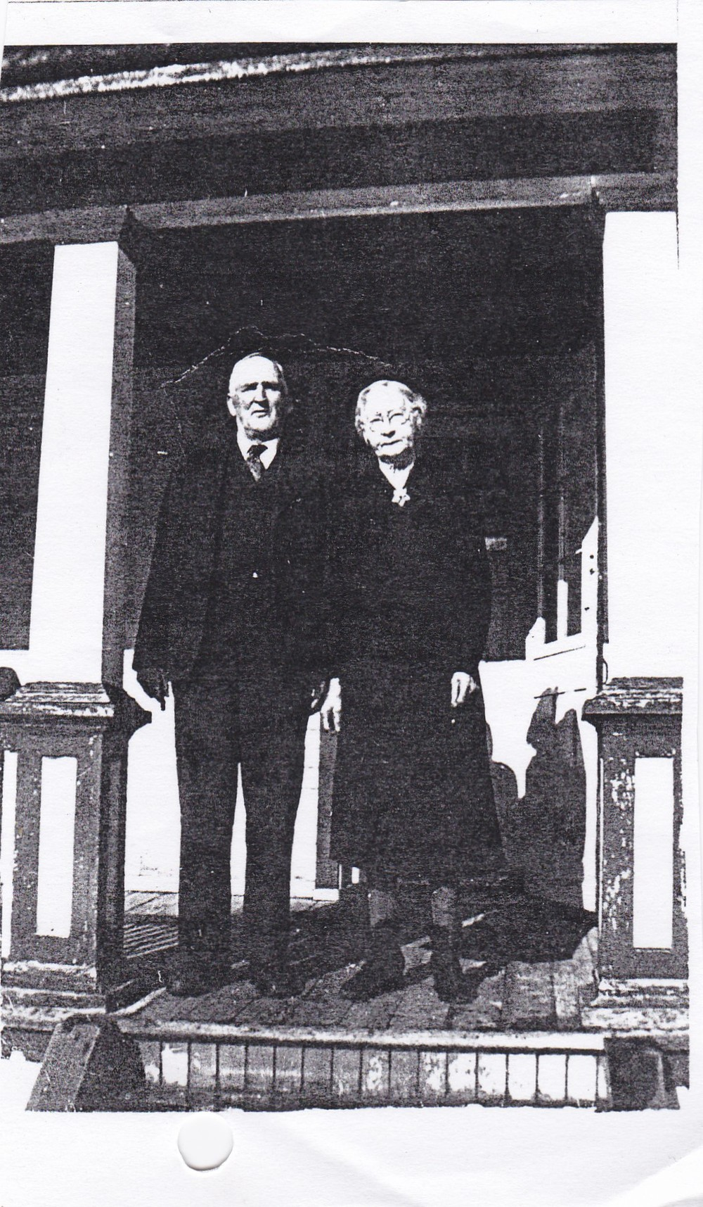 John O'Neill and Annie McGrath