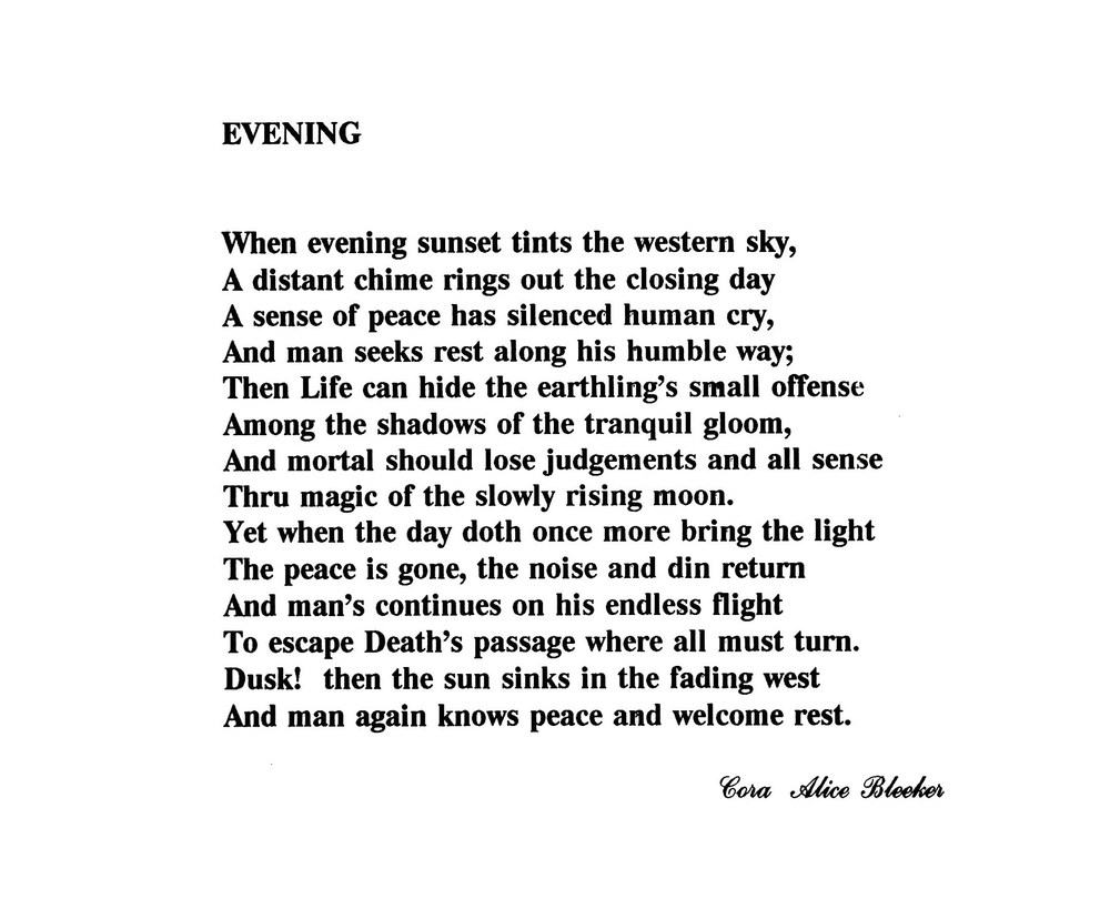 Evening by Cora Bleecker.jpg