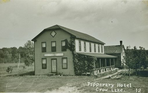 The Tipperary Hotel,  Marble Point Road,  Crowe Lake, Marmora (now demolished)