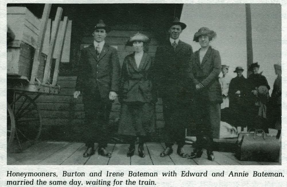 Burton & Irene Bateman,  Edward & Annie Bateman.jpg