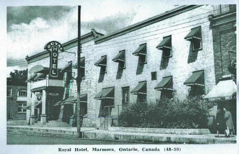 1933, Forsyth Street Royal Hotel Marmora.jpg