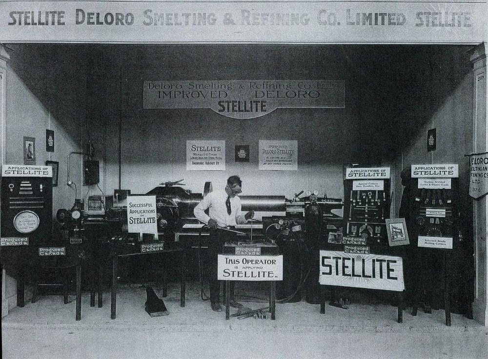 1939 Deloro Smelting & Refining Co display,  Joseph Hulsman Sr.