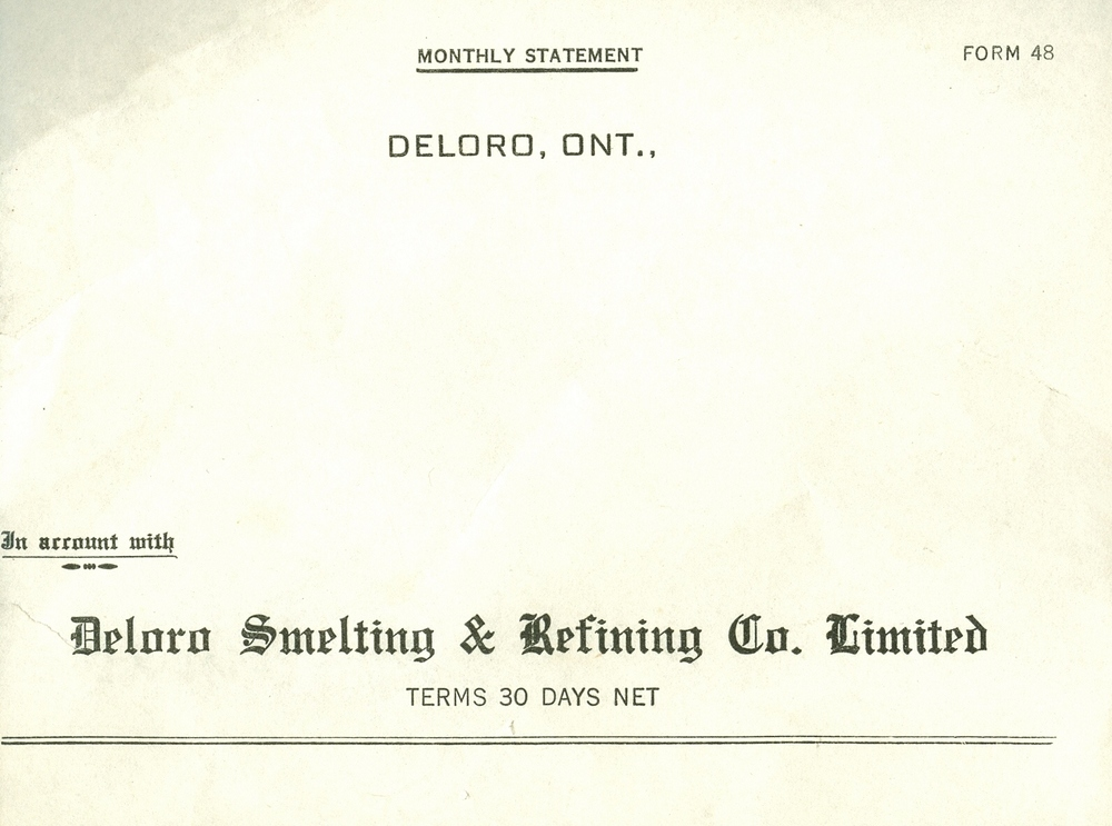 Letterhead Deloro Smelting and Refining Co. Limited.jpg