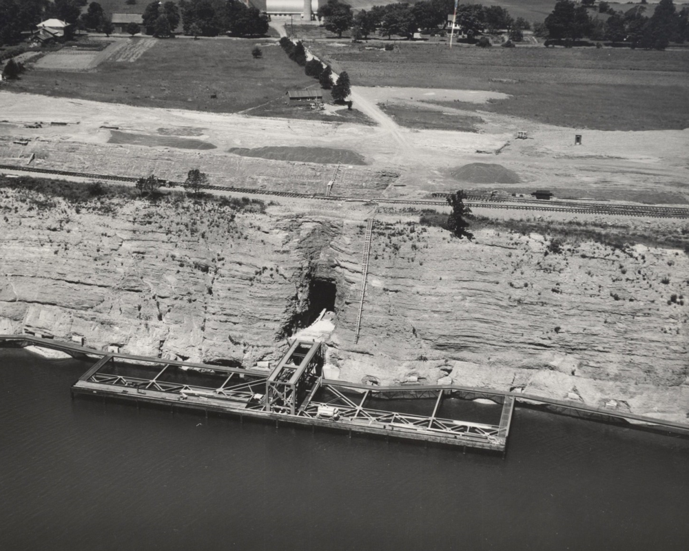 1954 Dock Construction Picton Marmoraton Mine