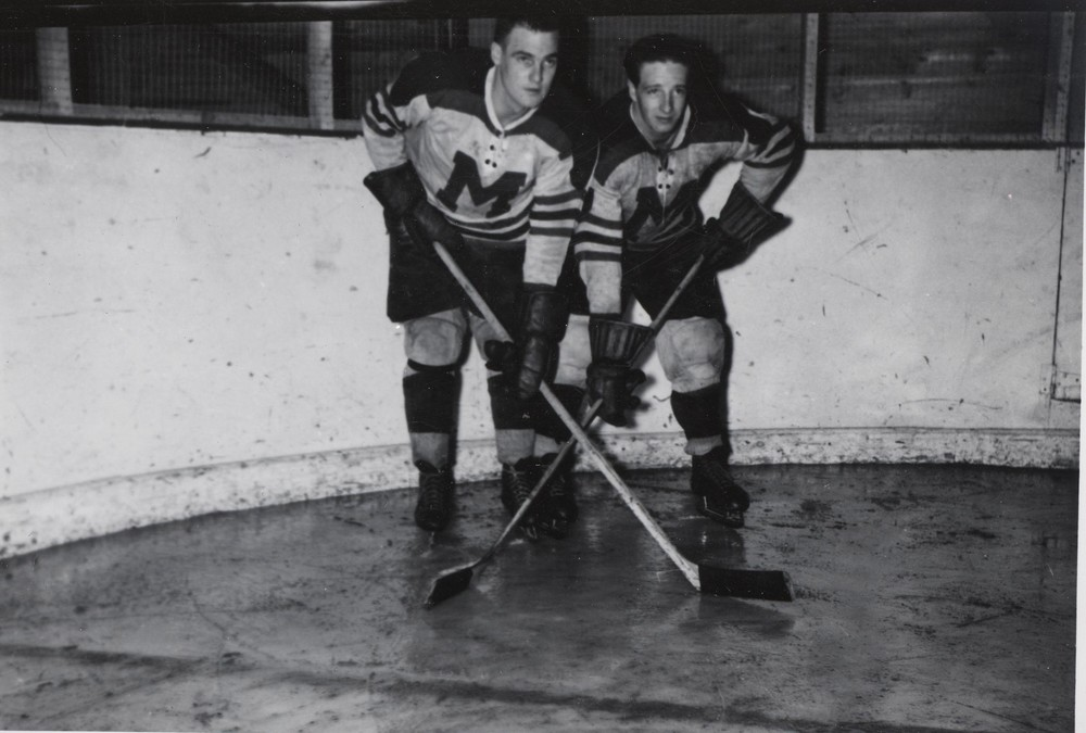 Earl Leonard and Bert Gray