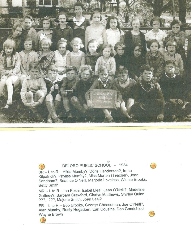 Deloro Public School 1934.jpg