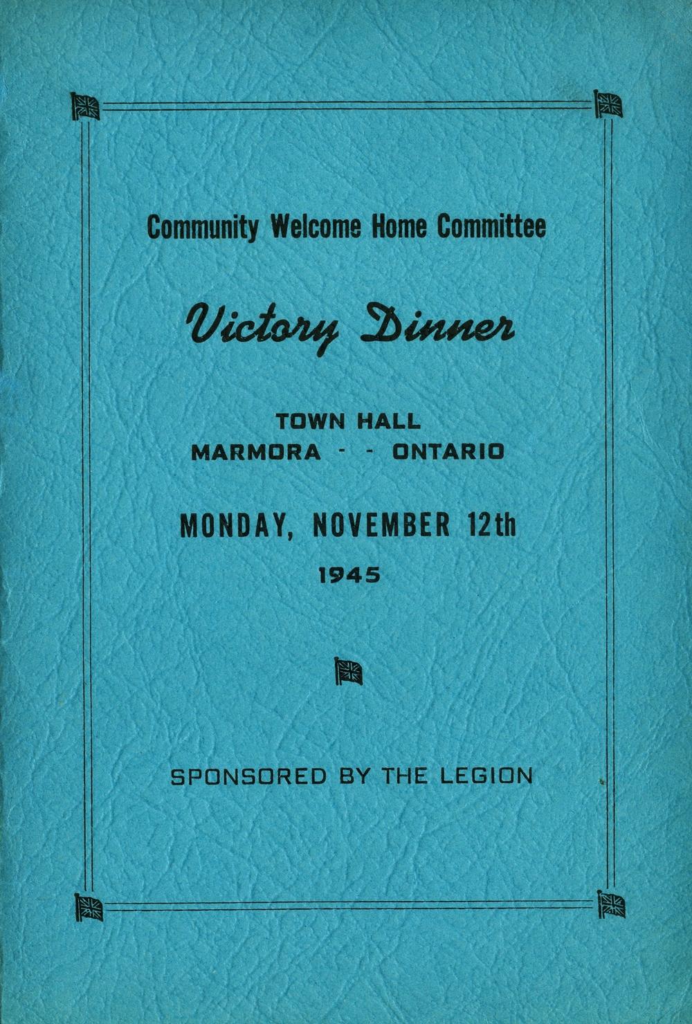 Legion  Victory Dinner, 1945.jpg