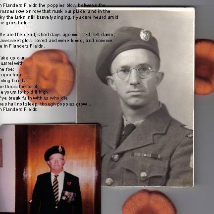 Pte. Alfred (Pat) Willman - Hastings Prince Edward Regiment, spent much of his time in Italy & Sicily in WW2. He was at the Battle of Ortona &  Monte Casino.