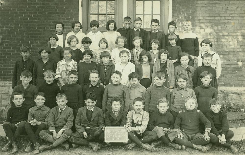 Oct. 22,  1924 Marmora Public School, Grade 3