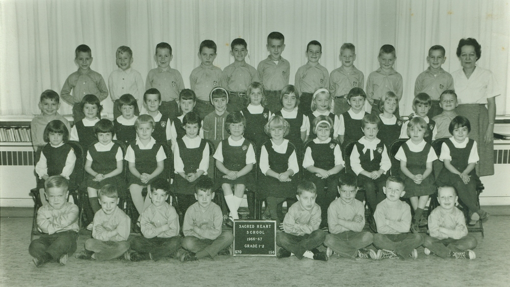 Saced Heart School 1966-67 Gr. 1/2