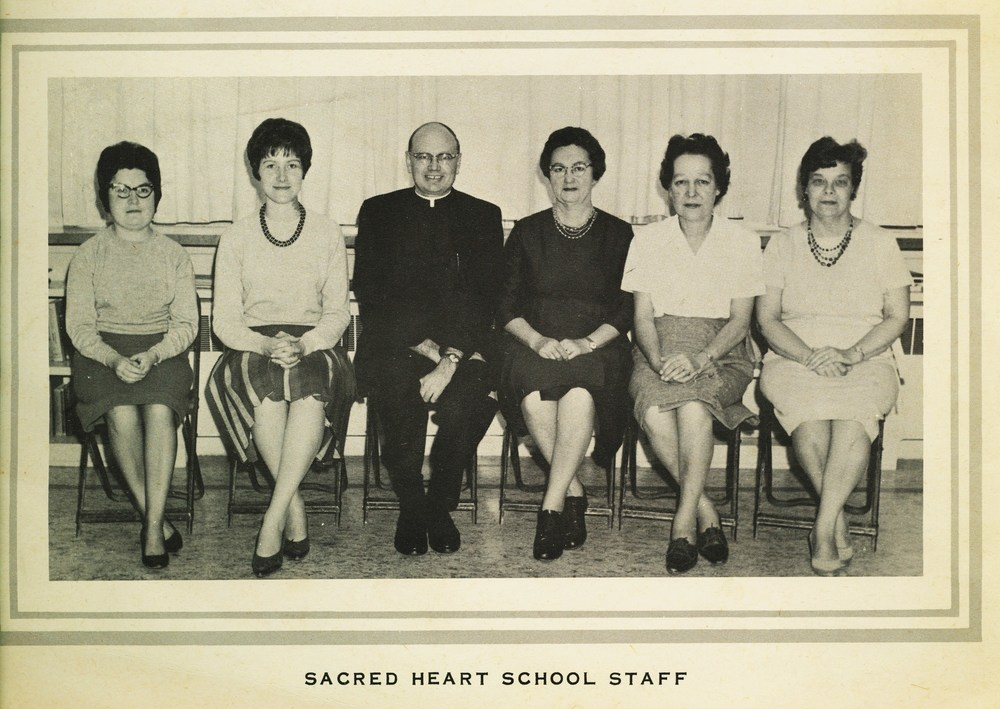 Sacred Heart School 1966-67 Staff
