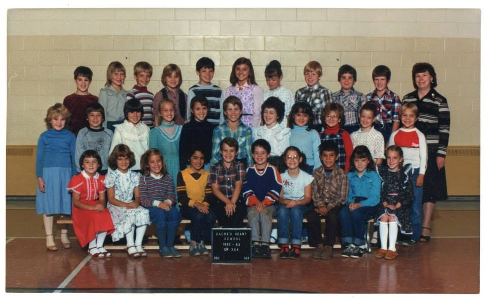 Sacred Heart School  1982-83  Gr. 3/4