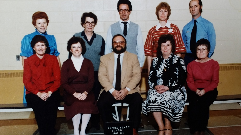 Sacred Heart School 1983/84 Staff