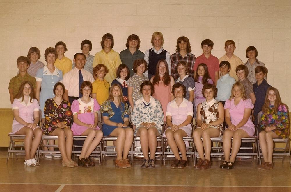 Sacred Heart  1973  Grade 8