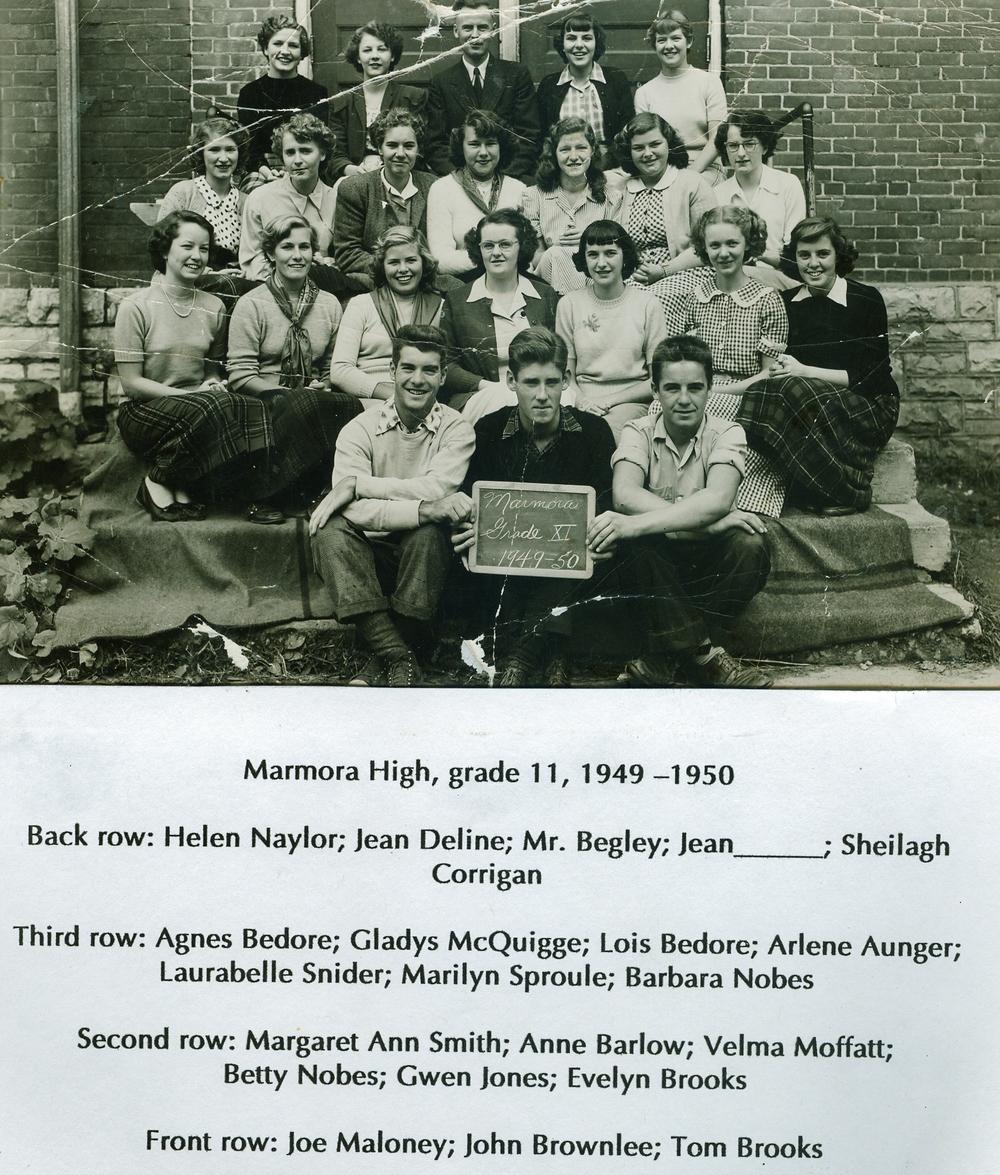 1949-50 Marmora High School,  Gr. 11.jpg