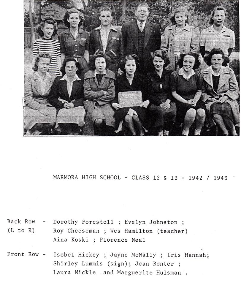 Marmora High school 1942.jpg