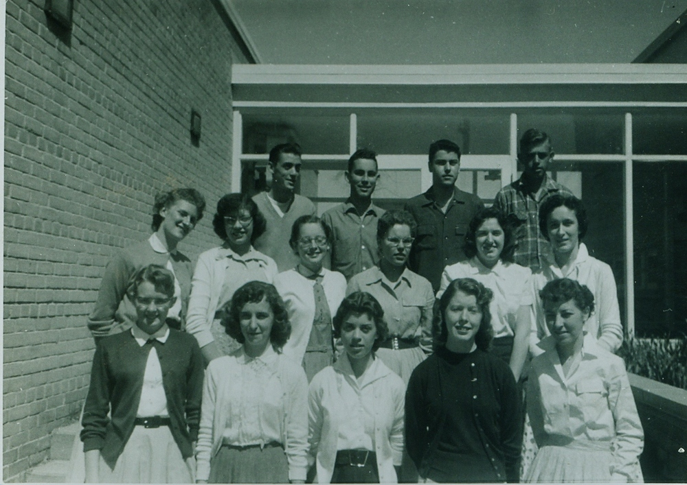 1956-1957 Marmora High School  Graduating Class.jpg
