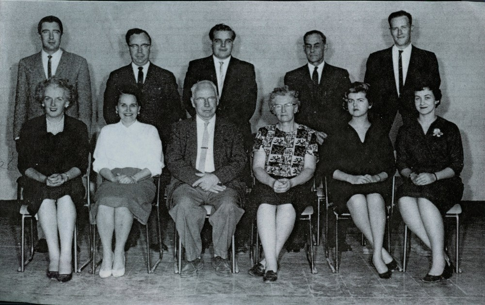 Marmora High School, teachers, Helen Brady, J.R. Jenkins A.T. Ashley