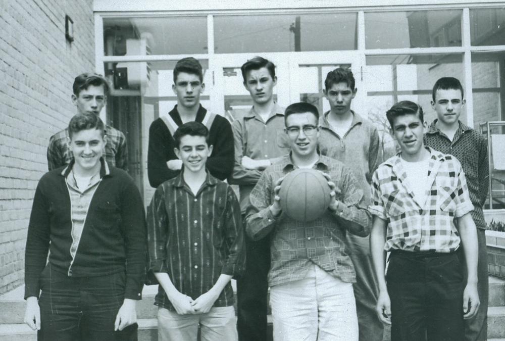 D Gray, J Herman, A. Tokarewicz, L Neal, Richar King, Bill Phillips, B O'Connor, H Parkin, J. Gray