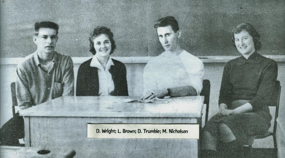 D. Wright, L. Brown, D.Trumble, M. Nicholson
