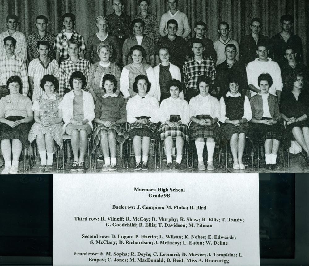 Marmora High School, Grade 9.jpg