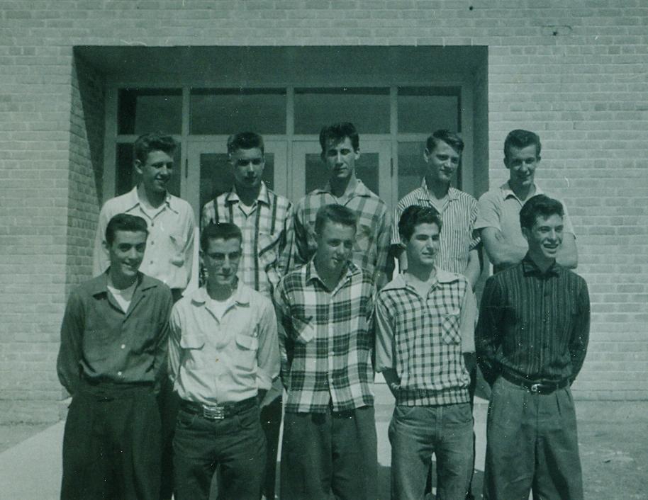 Marmora High School Doug Trumble, Rodney Mawer, Gerald Belanger, Clayton Ellis, Dan Bateman, Robert Empey, Jack Black