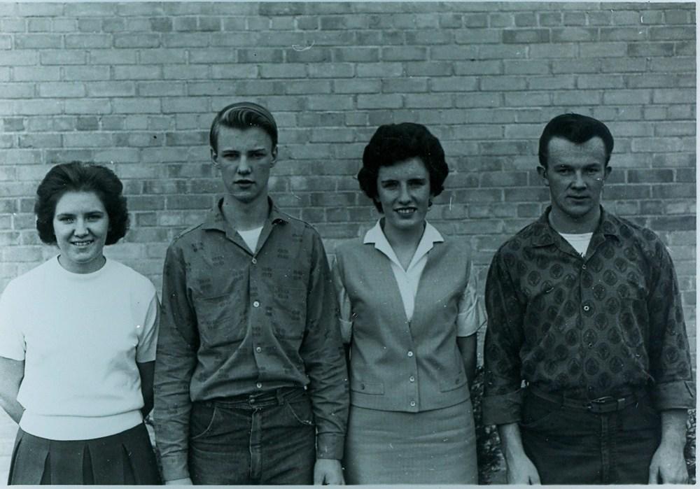 Marmora High school Isobel Spry, David Stark, Rosemary Brady, Garry Kelly