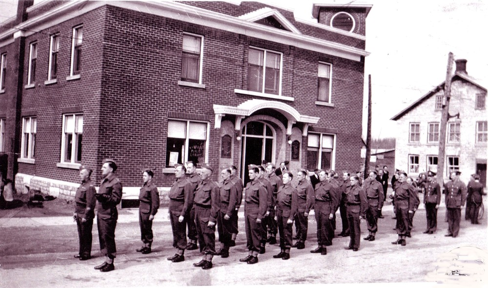 Wartime - Hastings & Prince Edward Regiment ,   Forsyth Street,  Memorial Building,  St. James Hotel.JPG