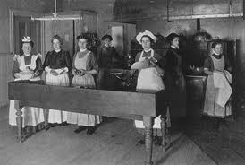 The Mercer Reformatory, instilling feminine Victorian virtues such as obedience and servility &  Work, such as cooking, baking, and cleaning.