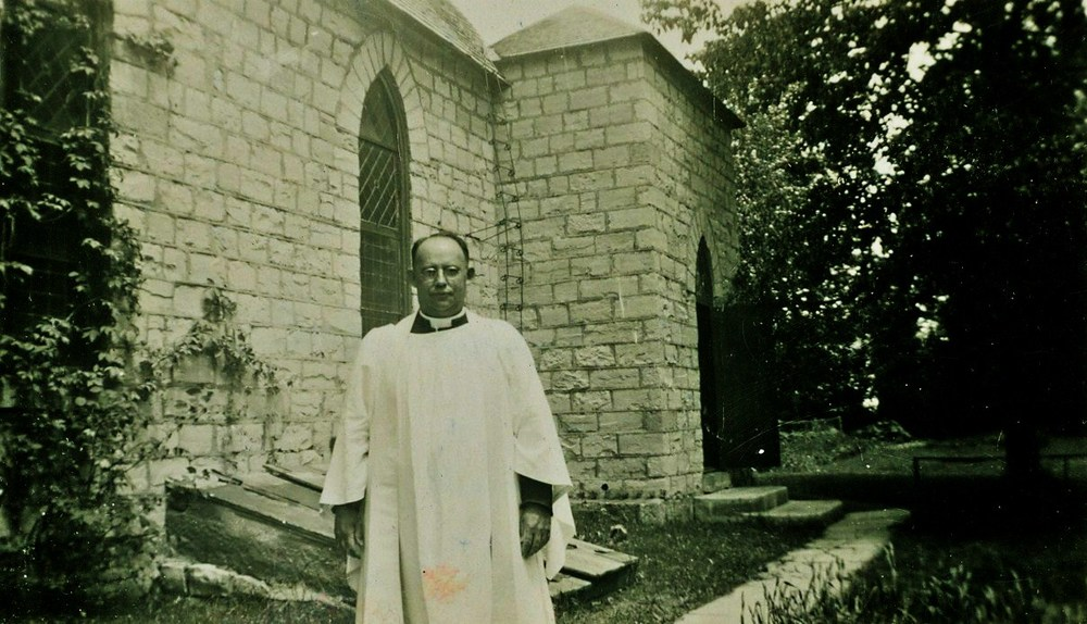 Rev. Arthur B. Caldwell, inducted into the marmora parish on Jan 13, 1927