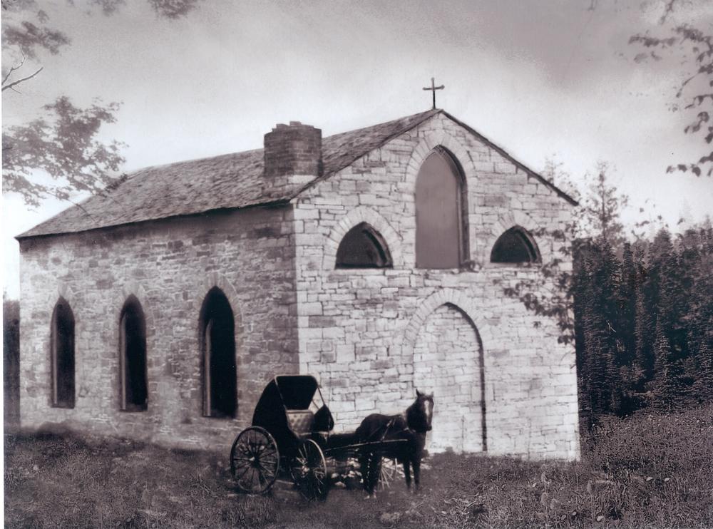 St. Matilda's south west corner, c.1900
