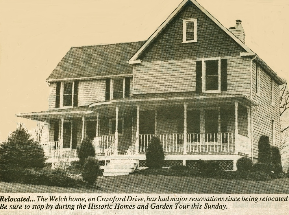#  23  -  the Froats/welch house on Crawford Drive