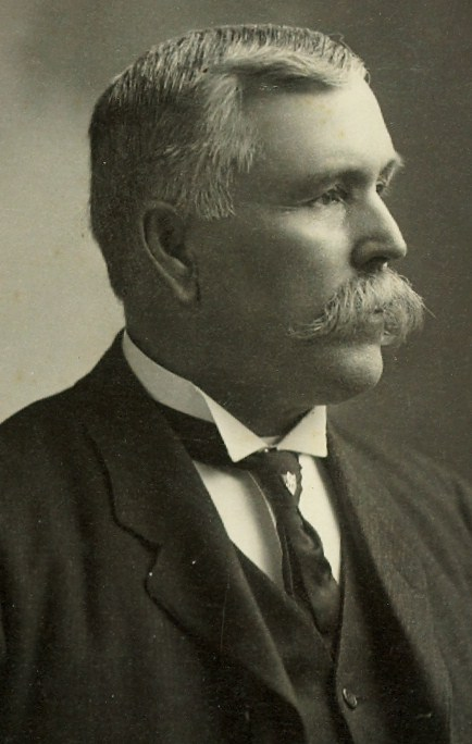1905 Josiah Williams Pearce, 1850-1938   Merchant,  Warden of the county in 1901,  parliamentarian, Bursur of the Ontario school for the deaf in 1911