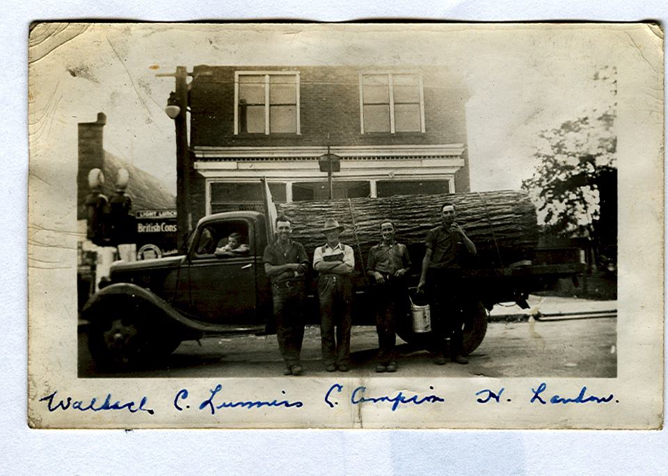 1940 Charles Campion truck