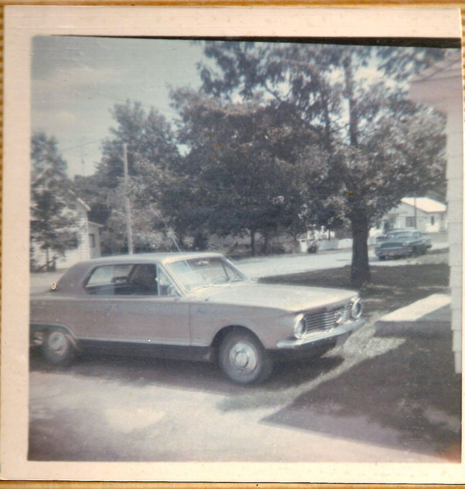 Larry Phillips' first car, this was taken in the late sixties
